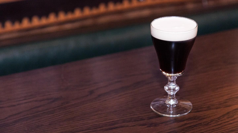 The Dead Rabbit's Irish Coffee
