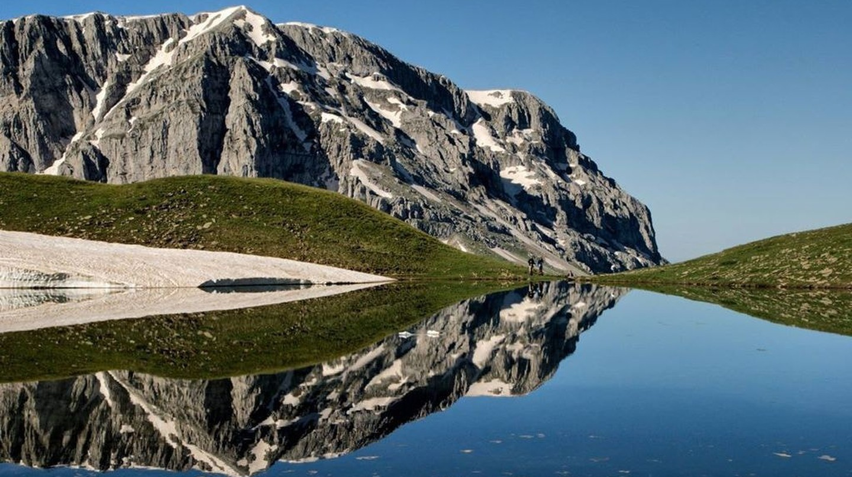 Dragon Lake of Tymfi | © Panos andreou/WikiCommons