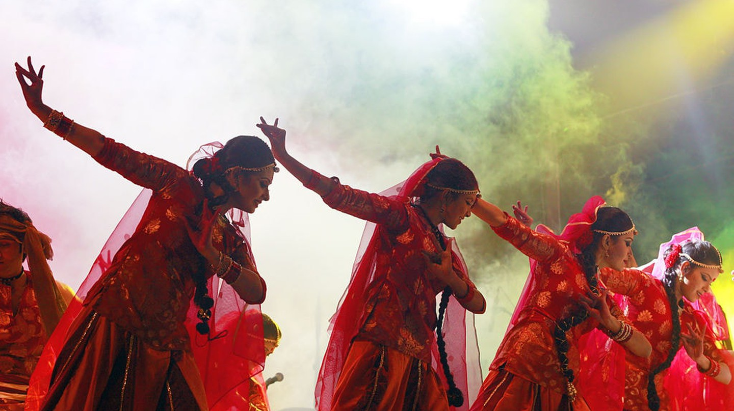 Dancers performing at Trination Mega Festival | © Faisal Akram/Wiki Commons