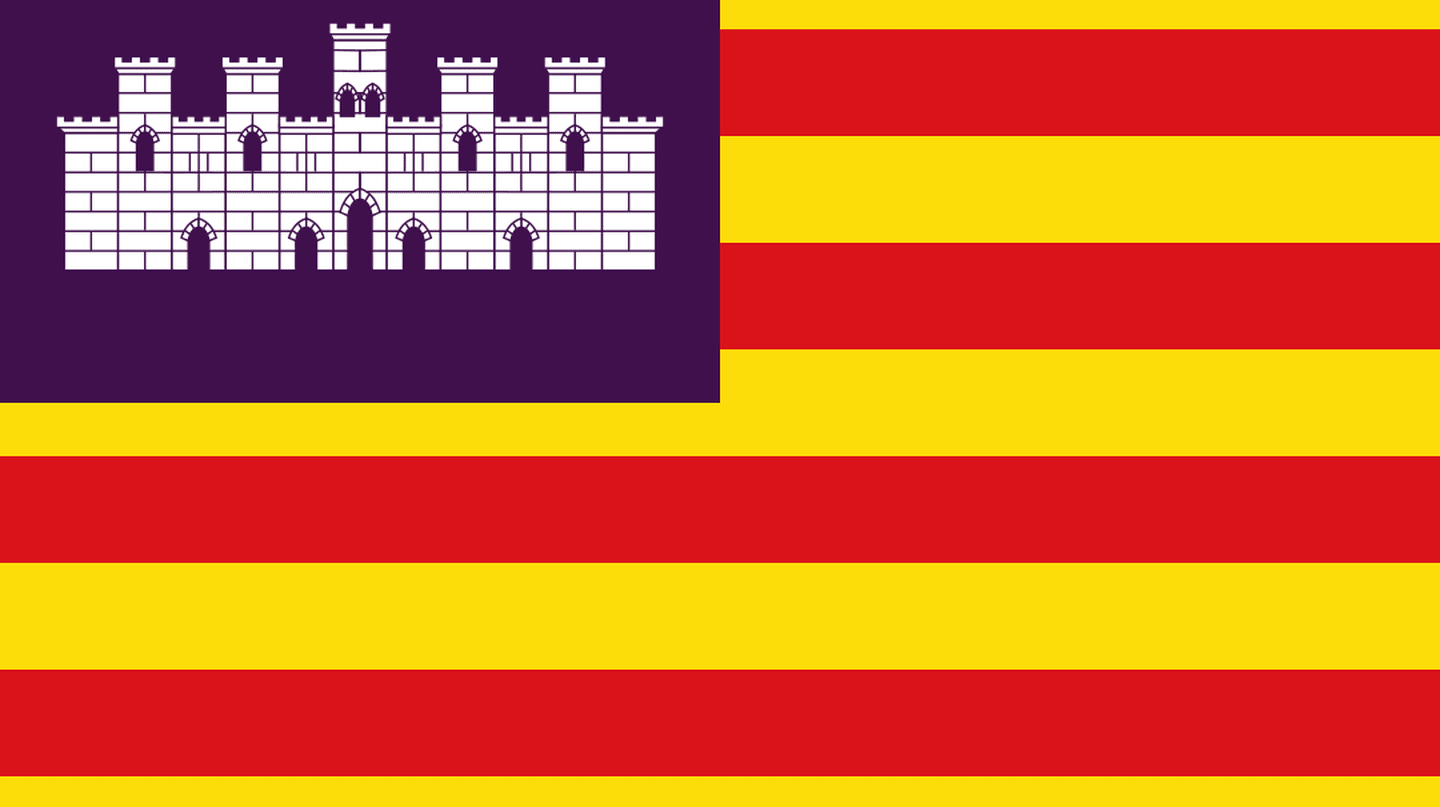 Flag of the Balearic Islands
