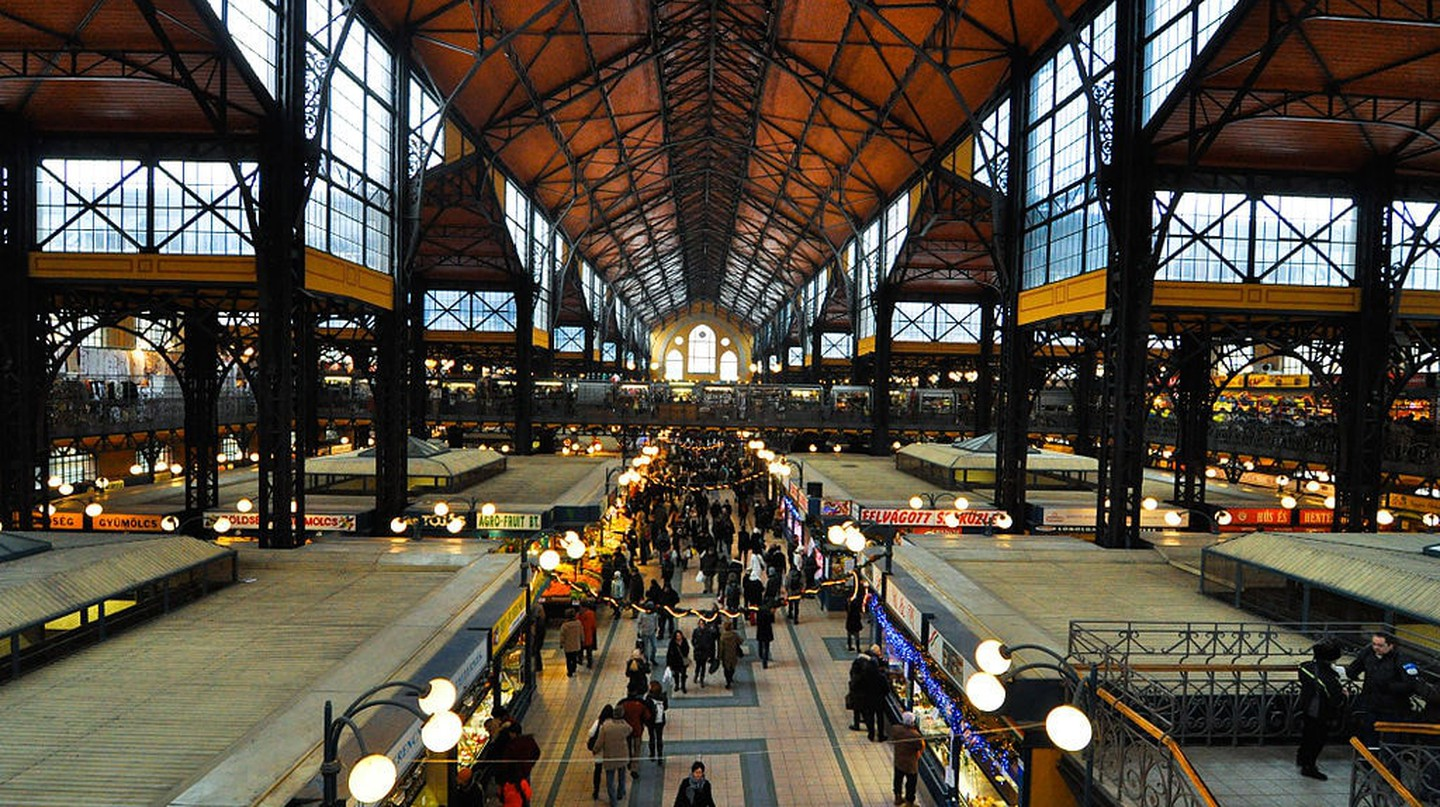 Great Market Hall, Vámház körút