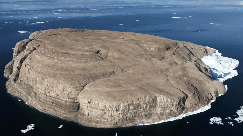 Hans Island   © Toubletap / WikiCommons