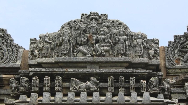 Temple details | © Abhinav Alva