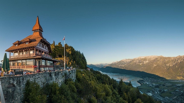 View from the Harder Kulm, Interlaken | © lukasbieri / Pixabay