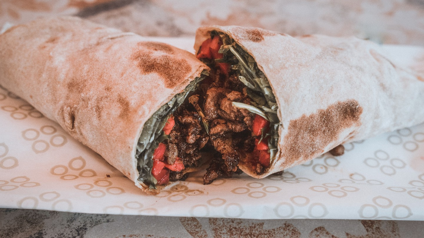 Lamb Wrap | Courtesy of Mamnoon Street