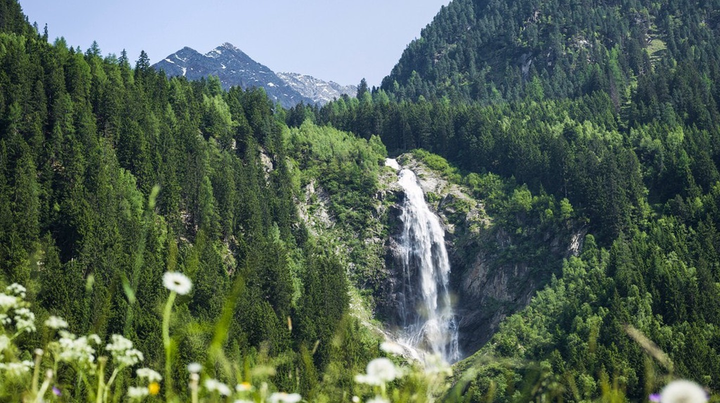 A waterfall in Tyrol's countryside |  ©  Austrian Tourist Board