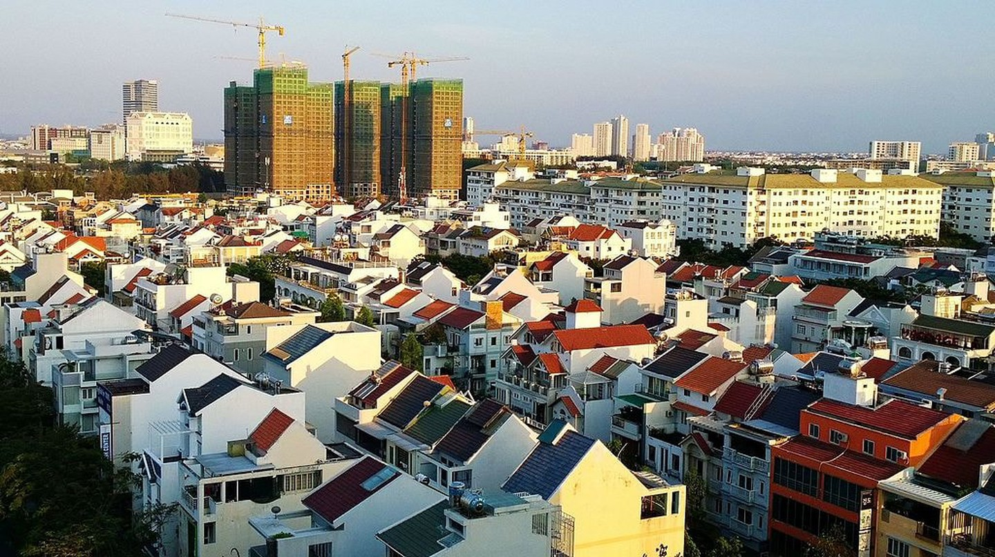 Luxury homes in District 7 | © trungydang/WikiCommons
