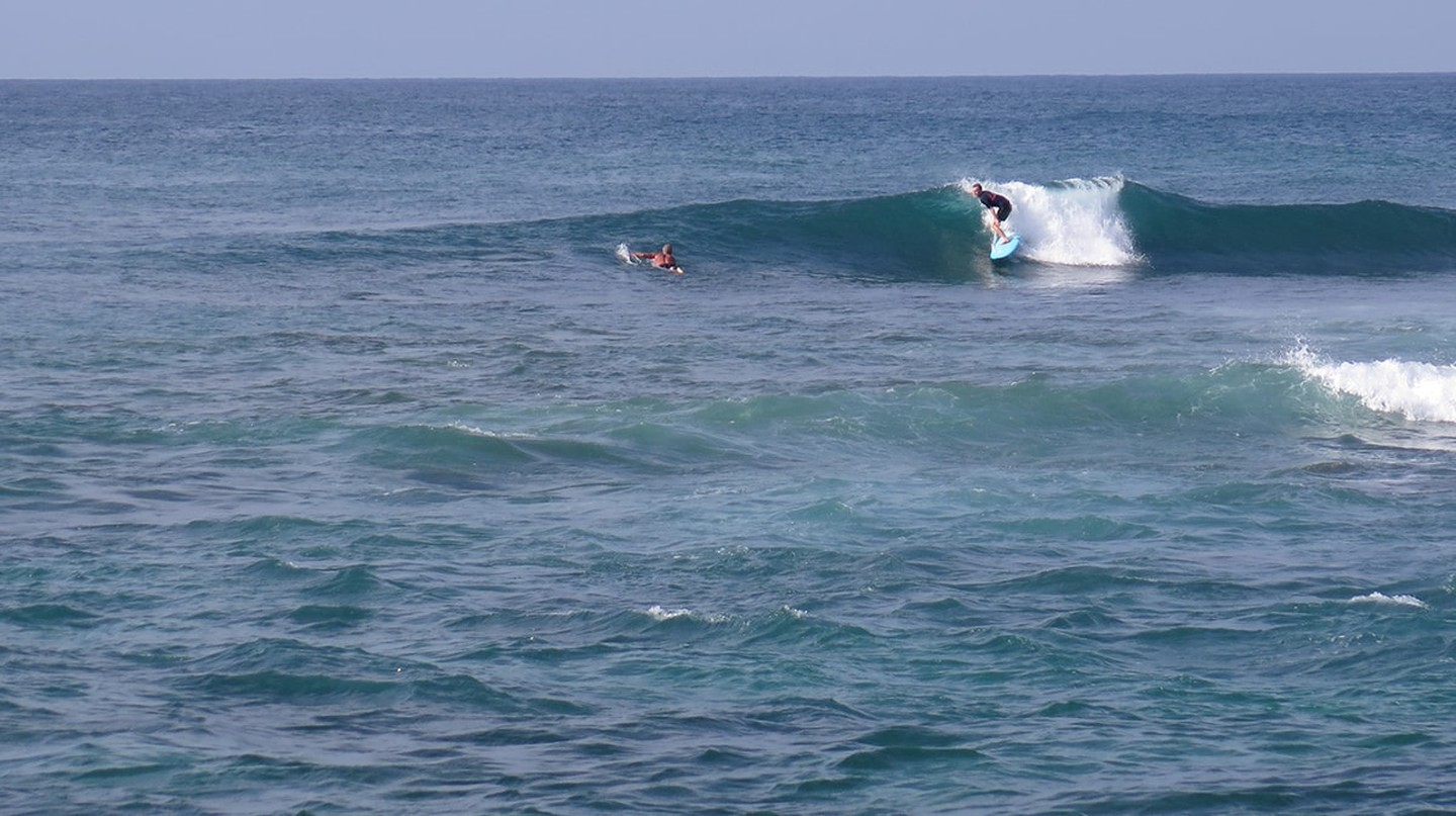 Surfing in Midigama | Courtesy of Surf South Sri Lanka