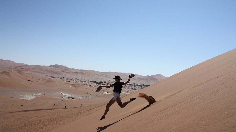 Sand dunes of Namibia | © gabrielestoeckmann / Pixabay