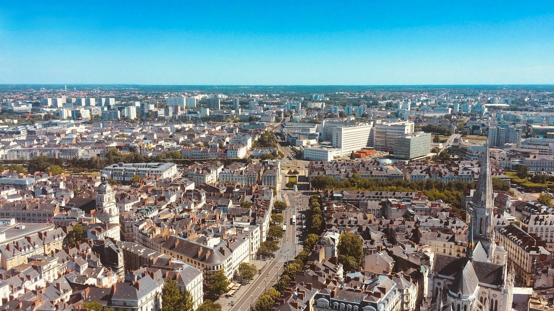 Nantes from the sky | © ahtcx / Pixabay