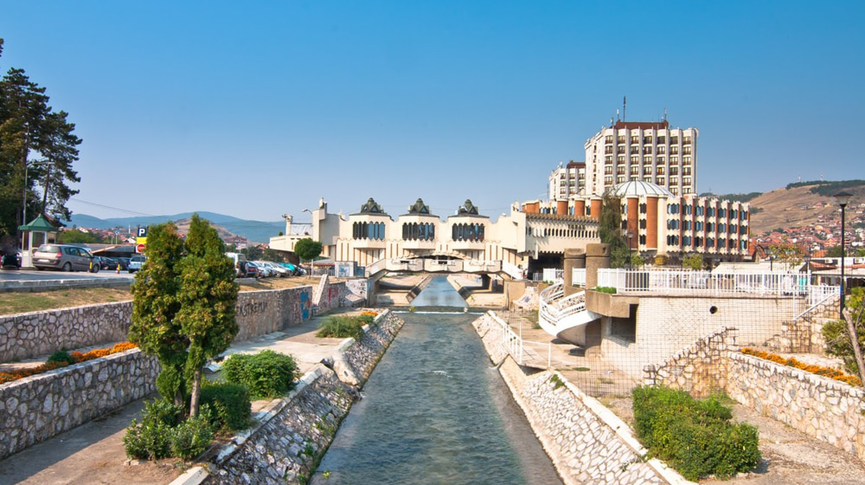 The Raška river flows through the centre of modern day Novi Pazar