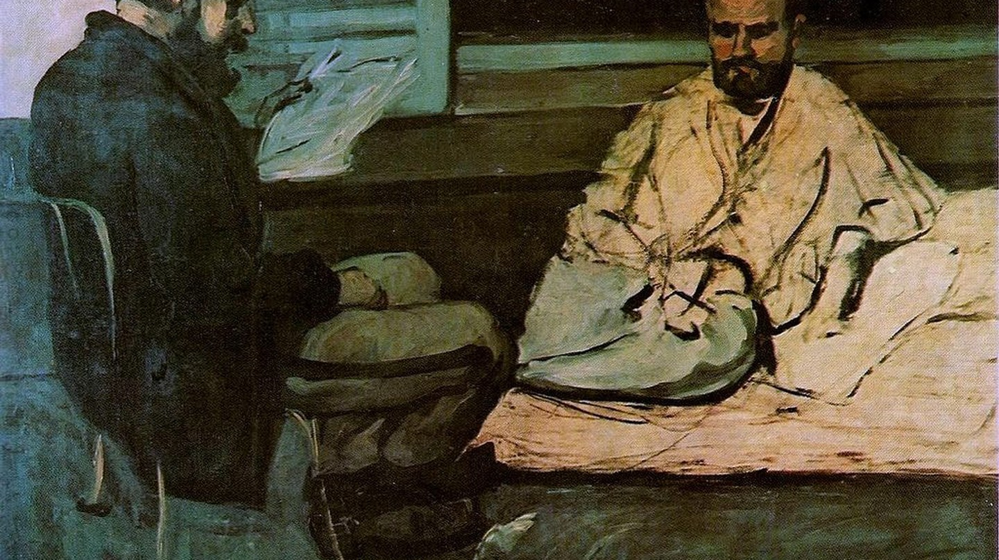 Cézanne's portrait of Zola and Paul Alexis | © Public domain / WikiCommons