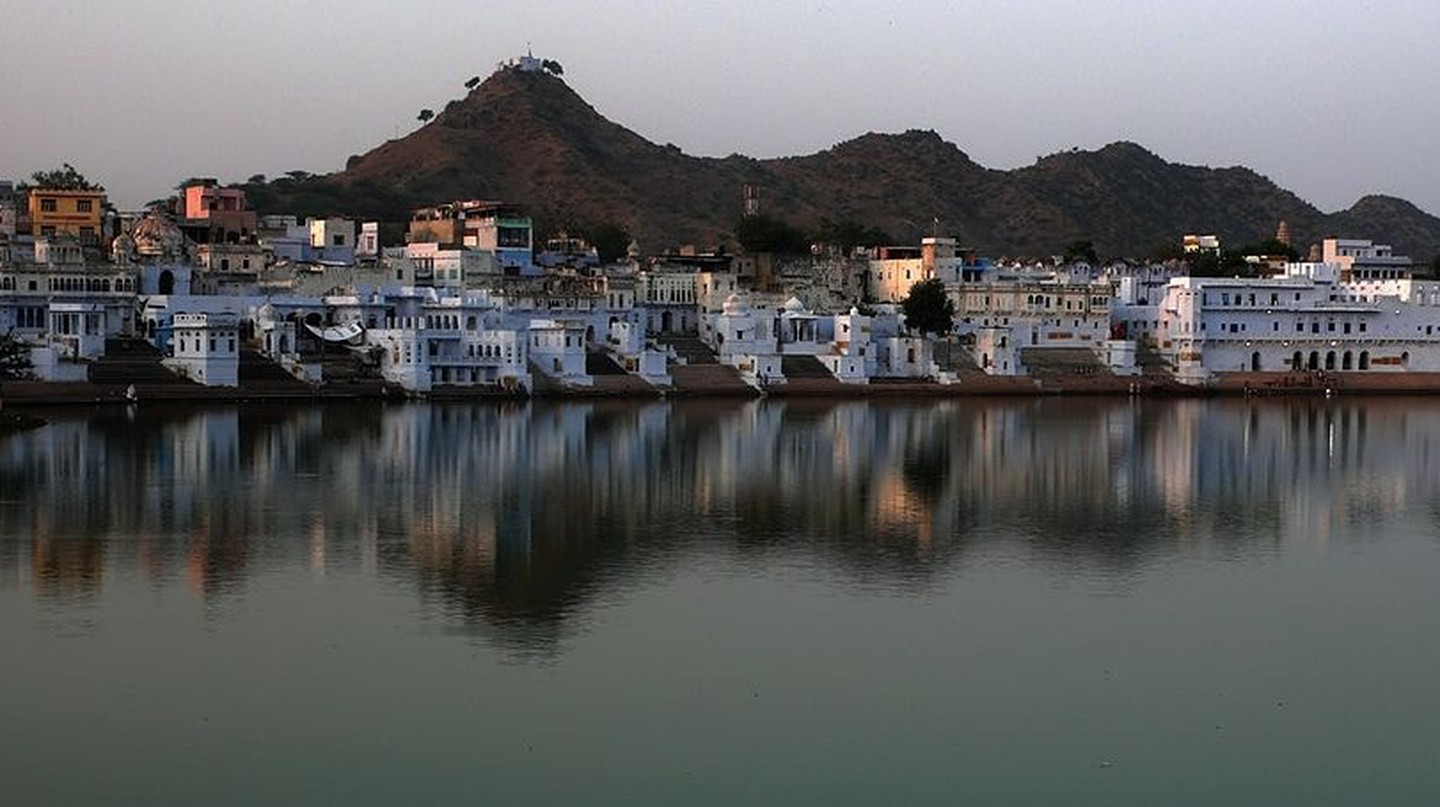 View of Pushkar from Nag Pahar | © SINHA/Wikimedia Commons