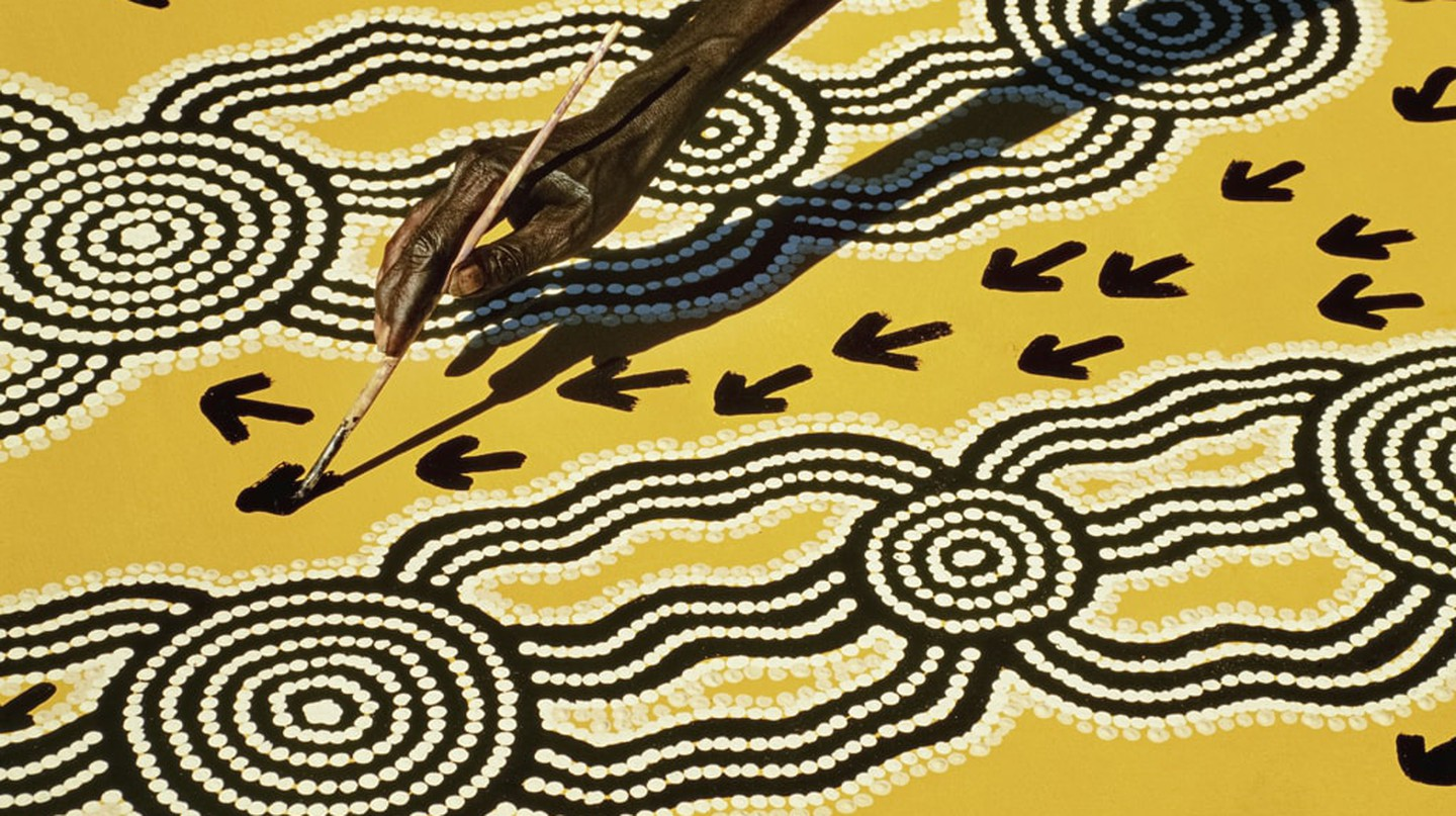 Traditional Aboriginal art