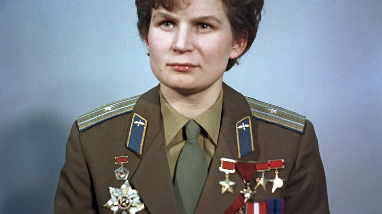 Valentina Tereshkova | © RIA Novosti archive, image #612748 / Alexander Mokletsov / CC-BY-SA 3.0 / WikiCommons