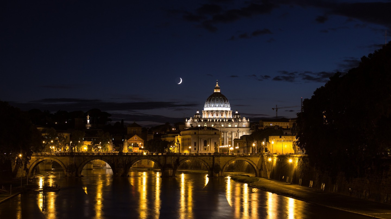 Rome at night | © visualaddition/PIxabay