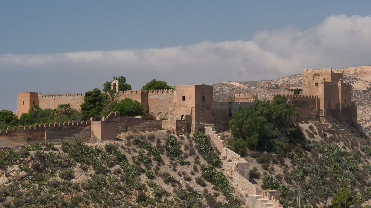 Almería's mighty Moorish fortress | © Jebulon/Wikimedia Commons