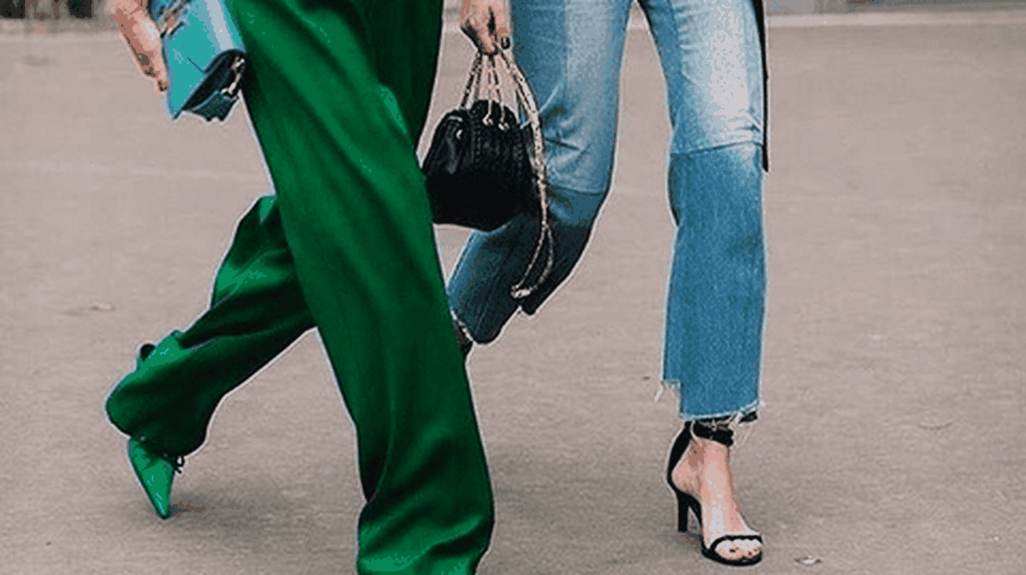 Street style | © Image via @jeanettemadson on Instagram