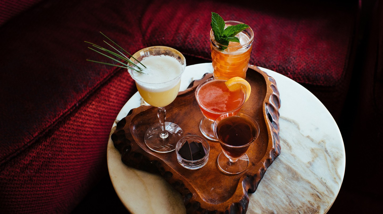 Winter Cocktails Assortment