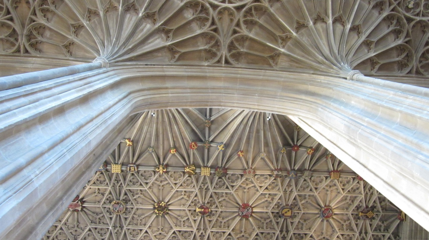 Vaulted ceiling at St George's Chapel | © Luis Tamayo/Flickr