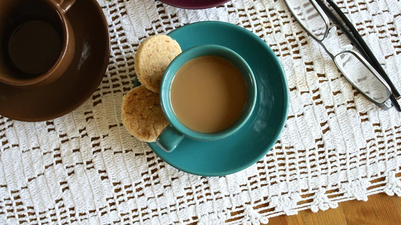 Tea and biscuits | © Pixabay