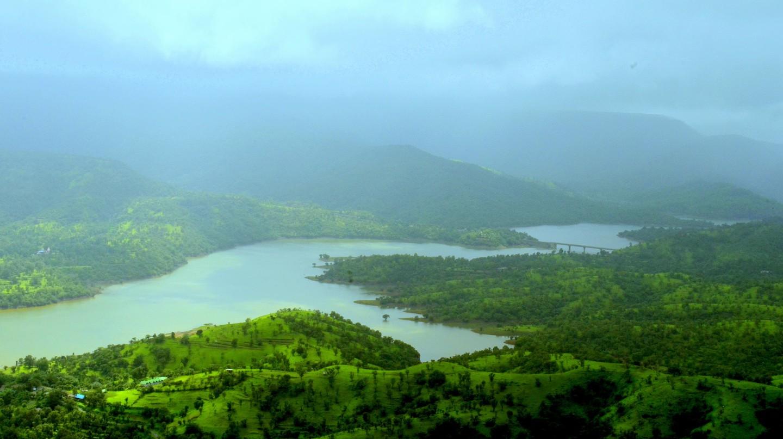 The Sahyadri Mountain Range
