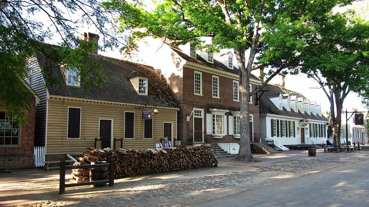 Duke of Gloucester Street in Colonial Williamsburg | © Sebastian Hirsch / WikiCommons