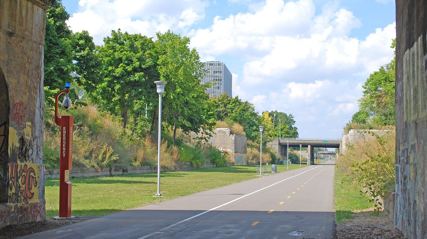 Dequindre Cut | © Andrew Jameson/WikiCommons
