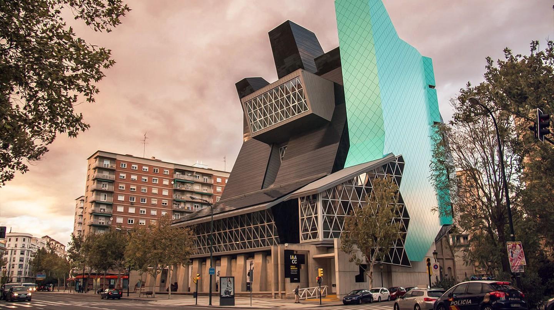 Museo Pablo Serrano in the Spanish city of Zaragoza