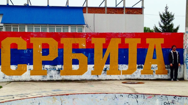 Some fairly self-explanatory graffiti in Jagodina | © John Bills/Facebook