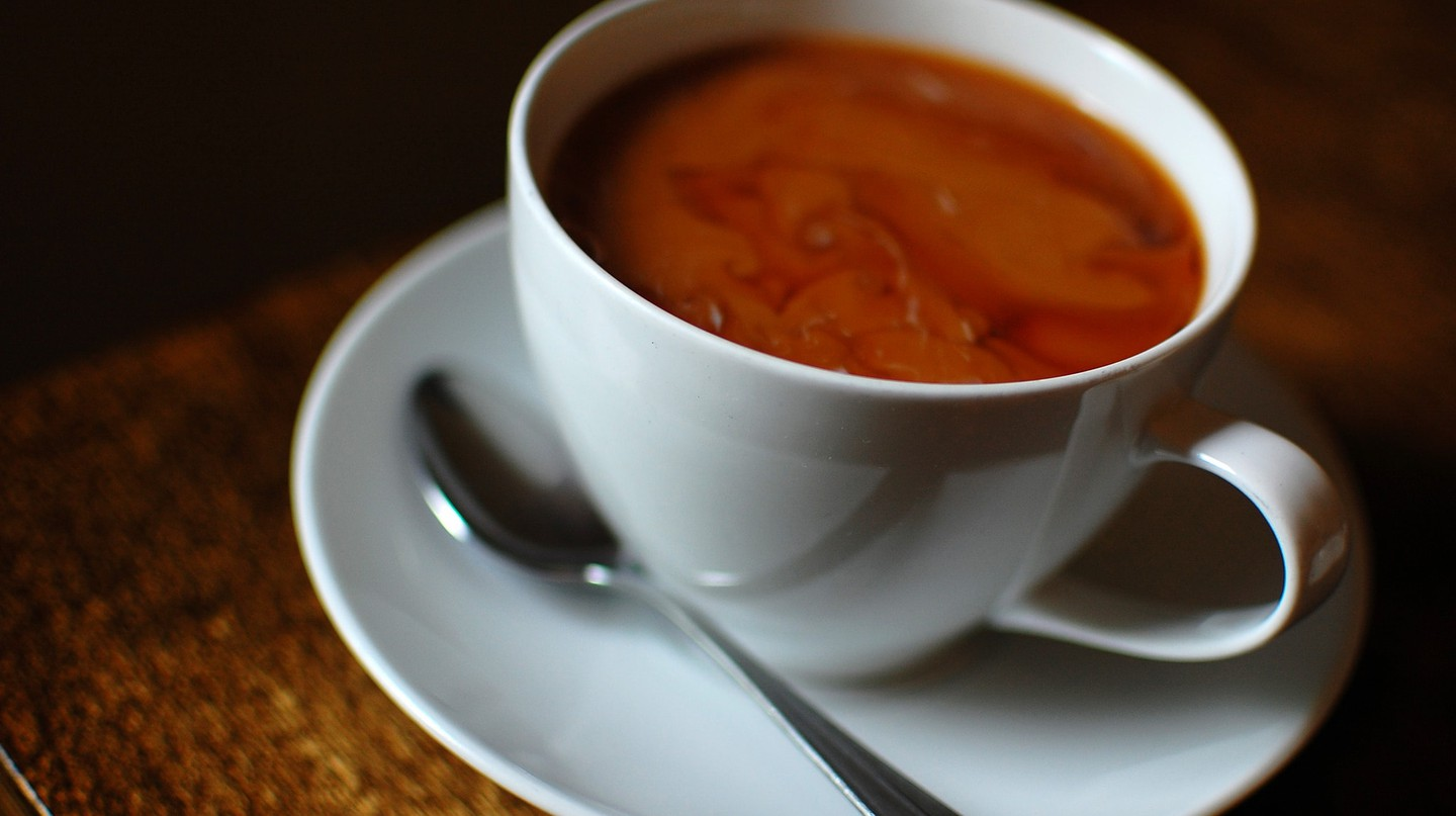 """Cuppa"" coffee 