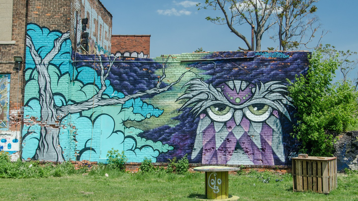 Street Art in Detroit | © Morgan Davis / Flickr
