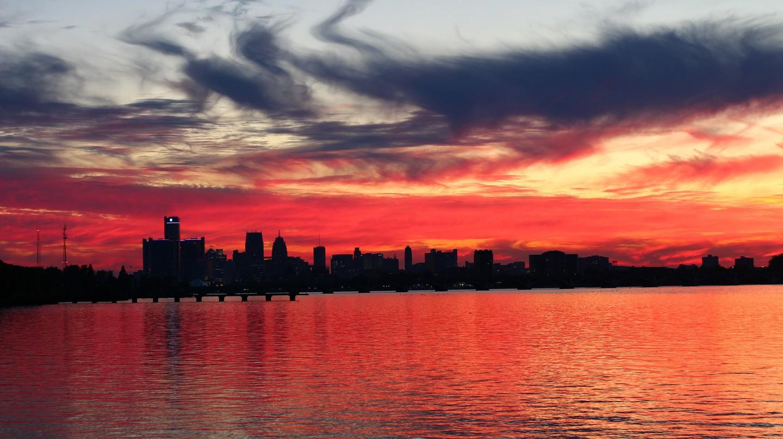 Detroit sunset | © Jeff Dunn/Flickr