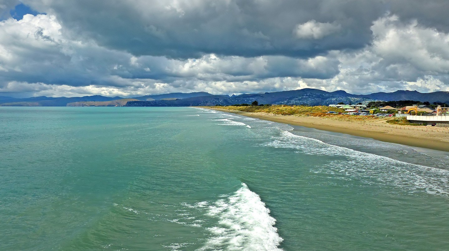 New Brighton Beach, Christchurch, New Zealand | © Bernard Spragg/Flickr