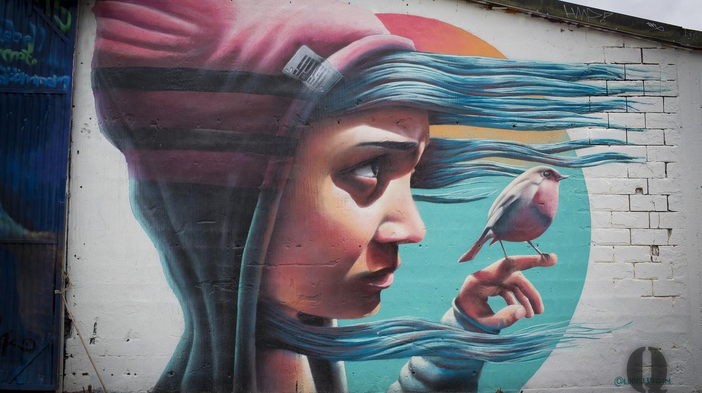 One of Yash's brilliant murals | © Danne Qvarfordt  / Flickr