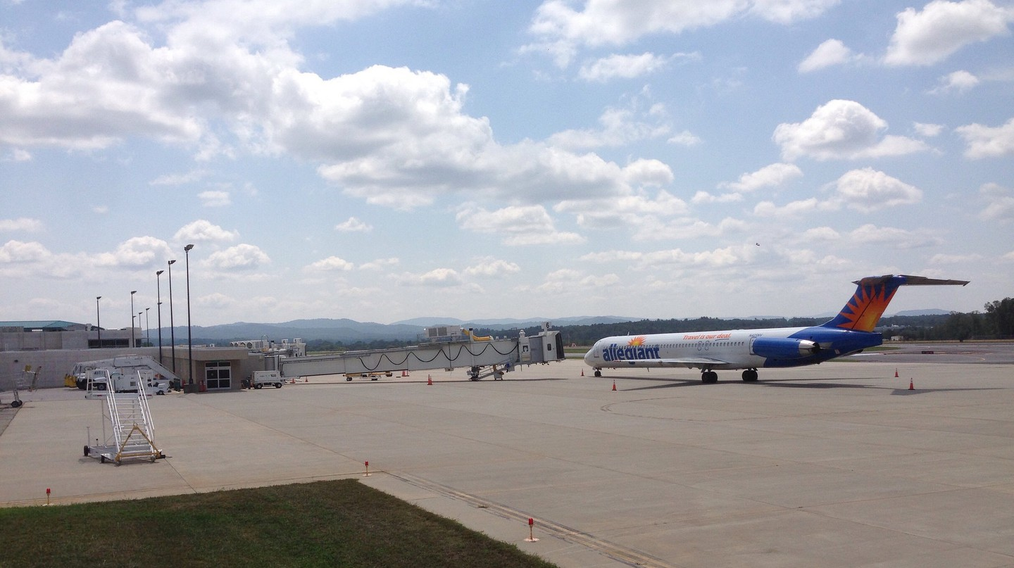 Asheville Regional Airport | © airbus777 / Flickr