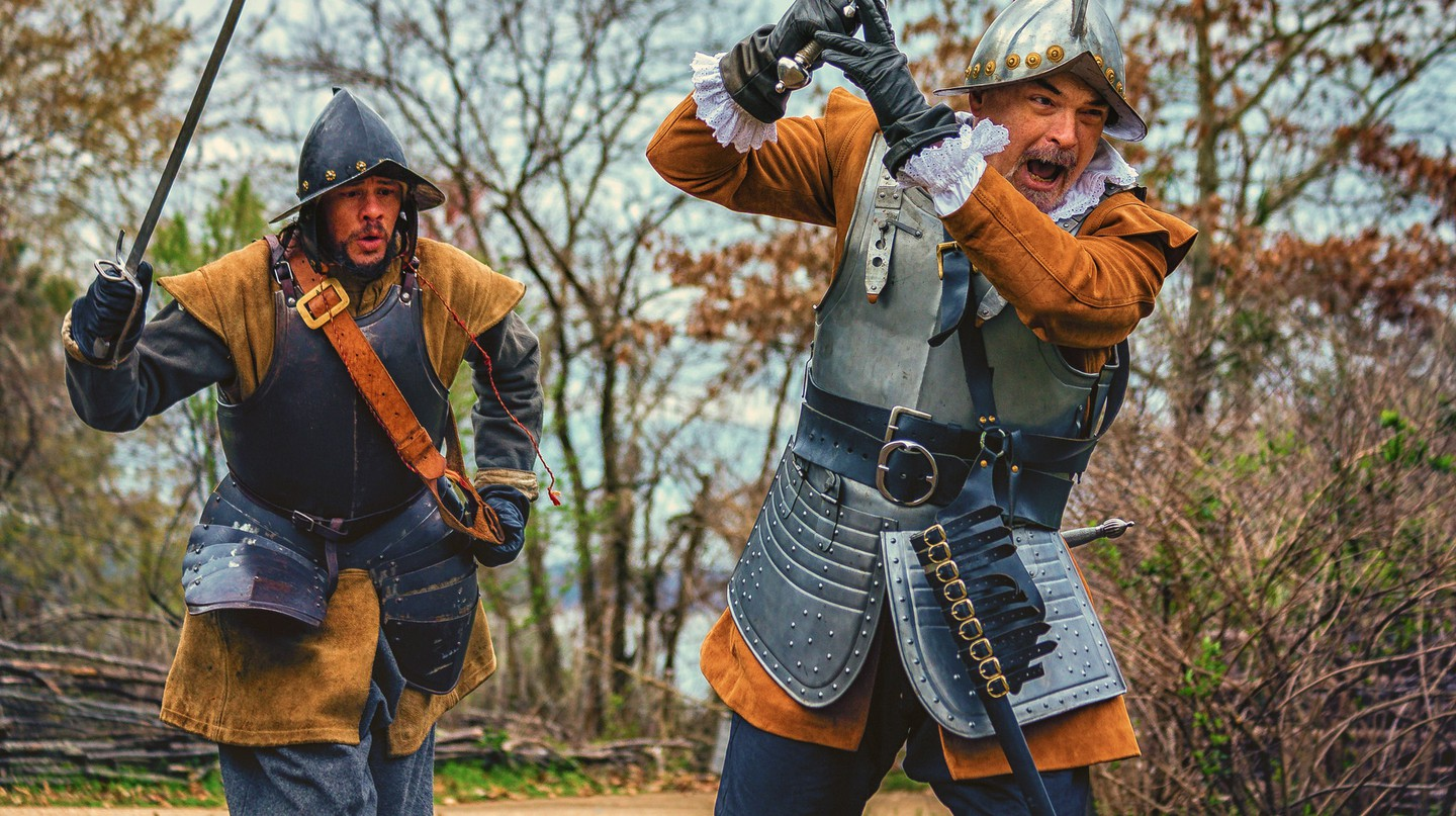 Historical reenactment in Jamestown | © Mobilus in Mobili / Flickr