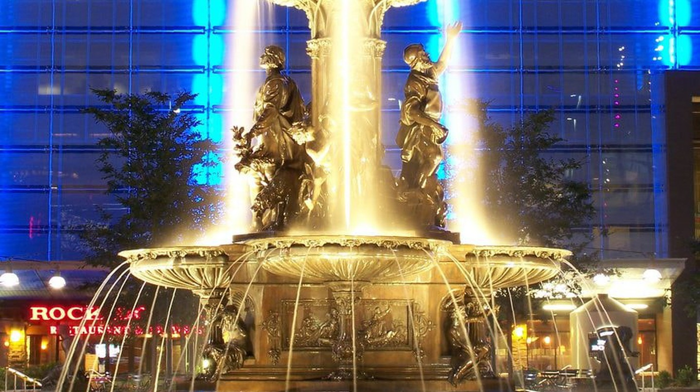 The Tyler Davidson fountain