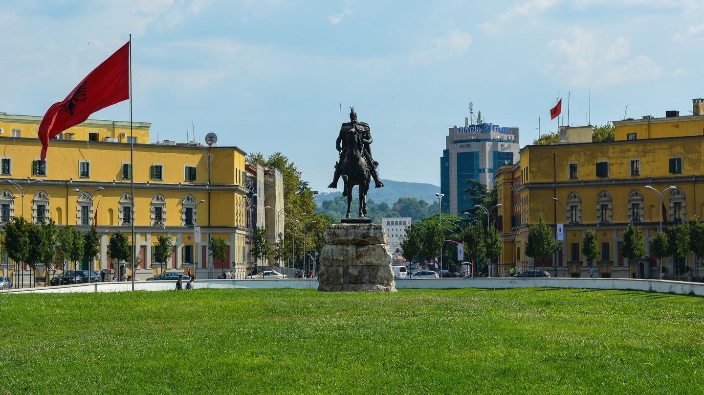 Skanderbeg monument | © Chris Walts/Flickr