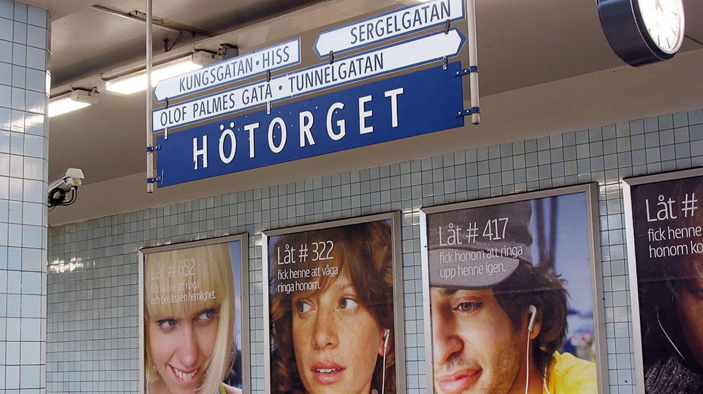 Stockholm is aiming to lead the way in non-sexist, non-racist outdoor advertising | © Daniel Mott / Flickr.