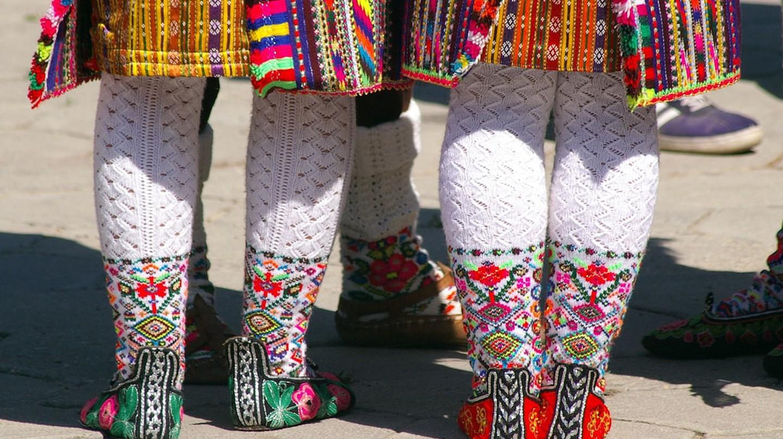 Bulgarian folk costumes   © Donald Judge/Flickr