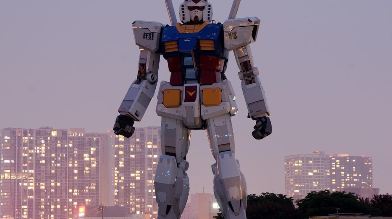 Gundam in Tokyo | © Shuichi Aizawa / Flickr