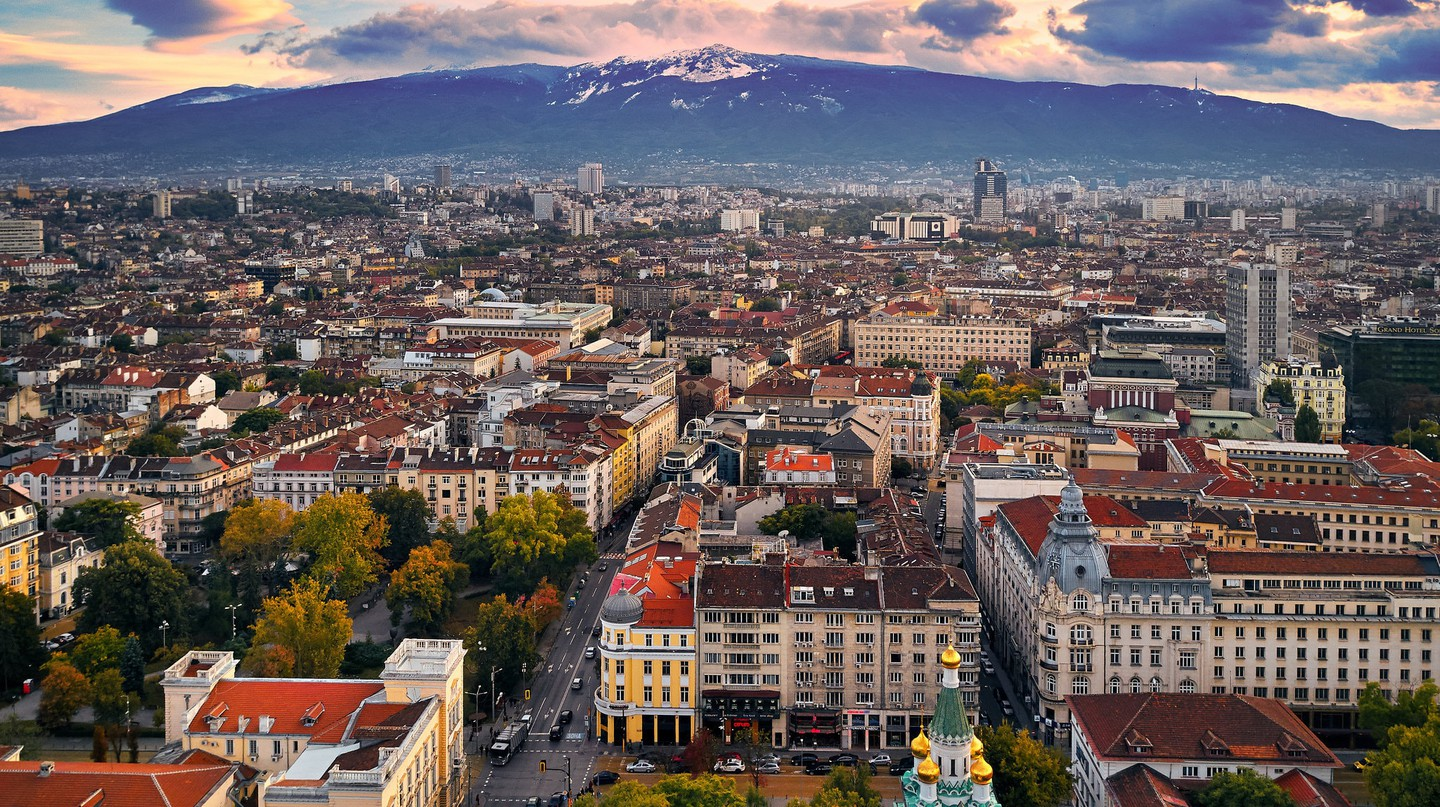 The center of Sofia from above | © Deensel/Flickr