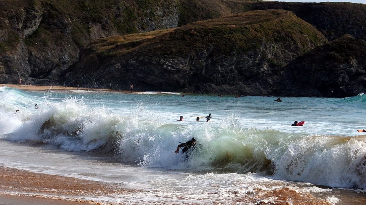 Surfing spots in Brittany | © Frédérique Voisin-Demery / Flickr