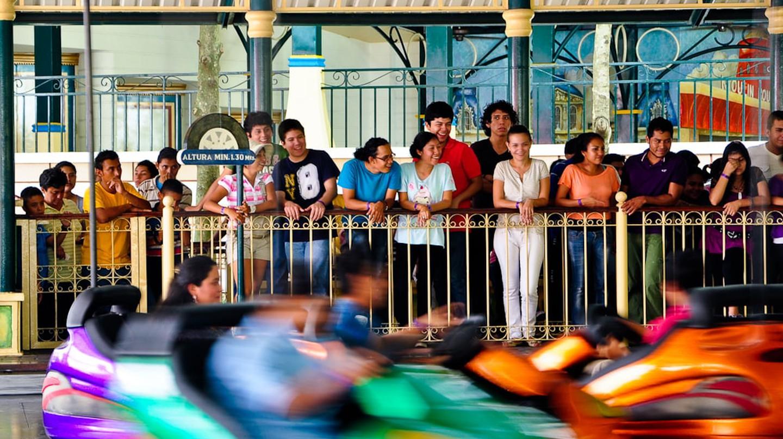 Bumper cars at Xetulul amusement park, Guatemala | © Eduardo Robles Pacheco / Flickr