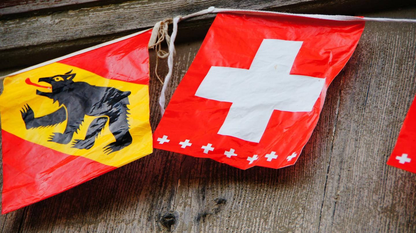 Bern's flag proudly features a bear | © Martin Abegglen/ Flickr