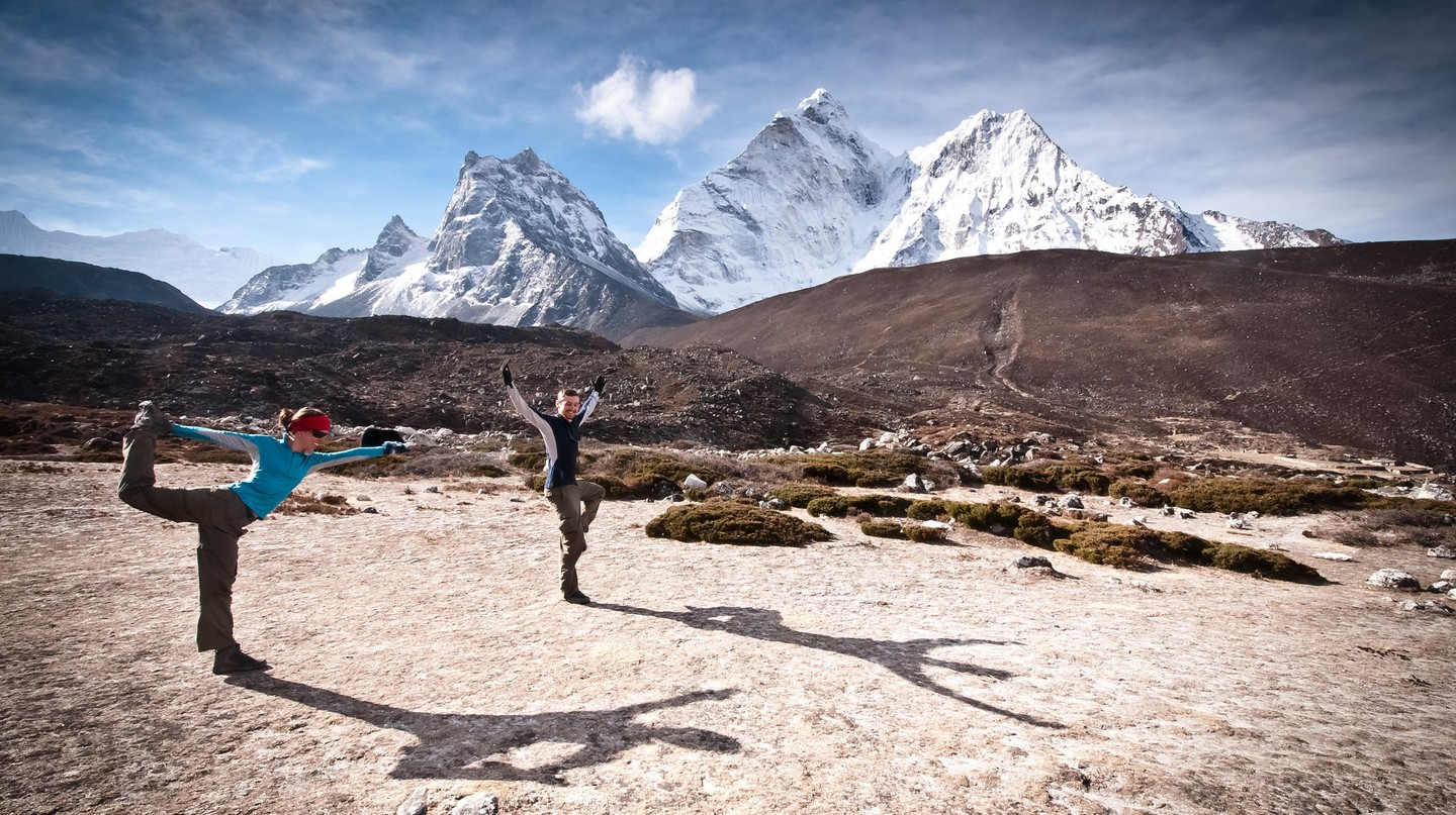Yoga trekking in Nepal | © Ryan Smith/Flickr