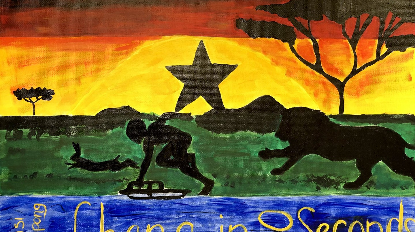 'Ghana in 60 Seconds'   Courtesy of Mystique Ro