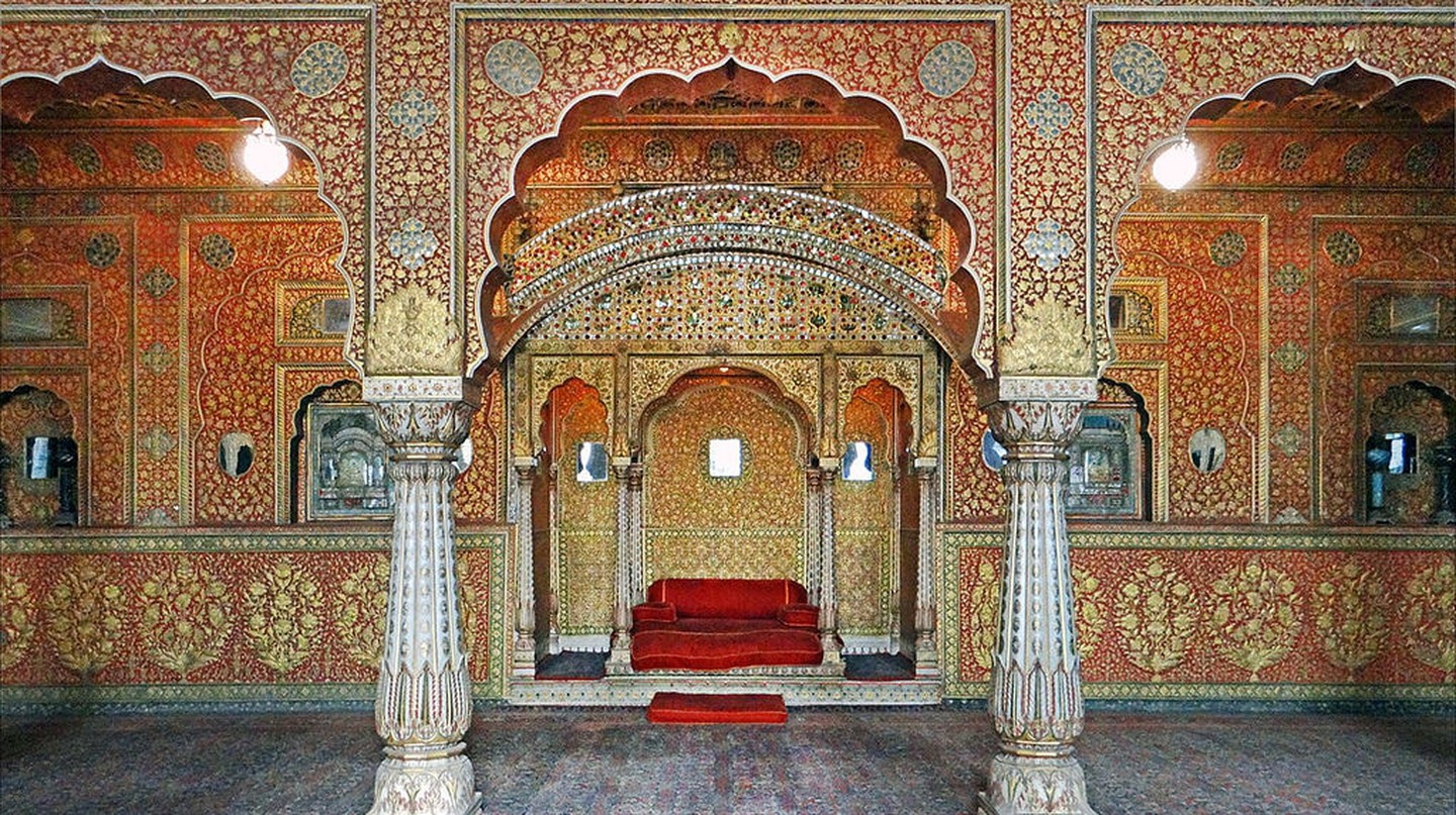 Anup Mahal in Junagarh Fort | © Jean-Pierre Dalbéra / Wikimedia Commons