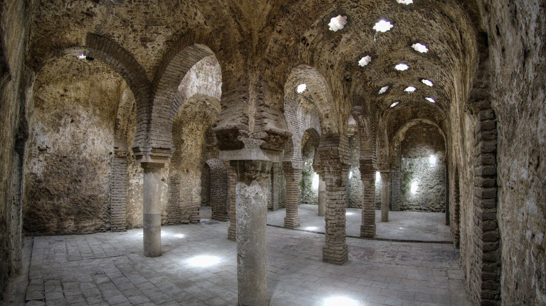 The remains of Ronda's Arabic Baths | © Ángel M. Felicísimo/WikiCommons